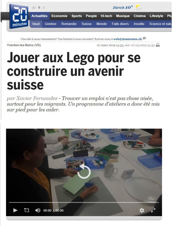 20 Minutes - LEGO SERIOUS PLAY - SERIEUSEMENT LUDIQUE - SWISSTART-1